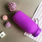 silicone water bottle, travel water bottle, travel, fitness, coffee