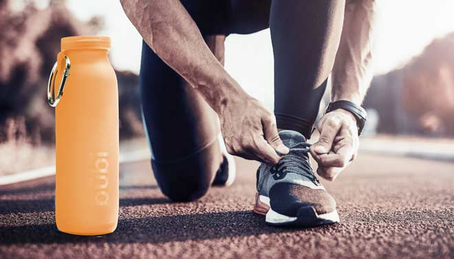 solution, run, runner, sport water bottle, sport
