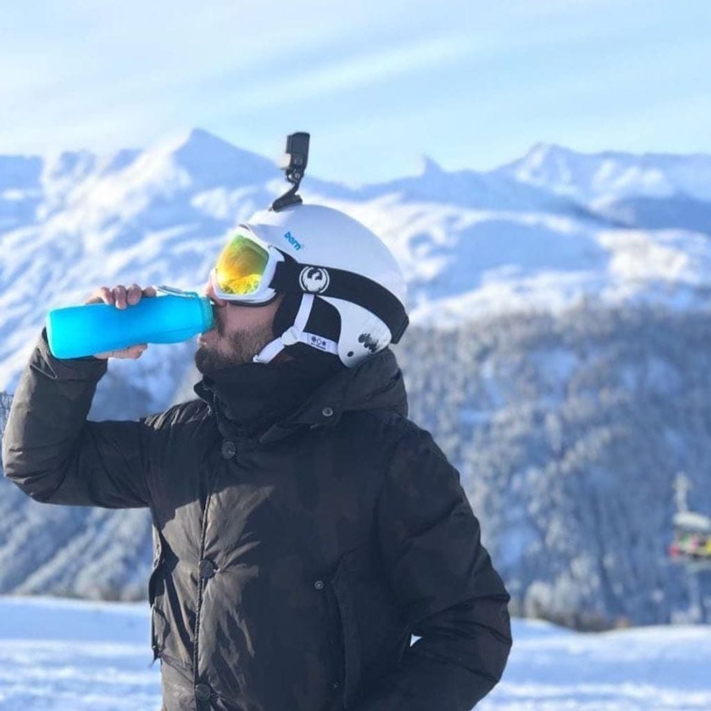 extreme cold weather, buib, water bottle, drinking