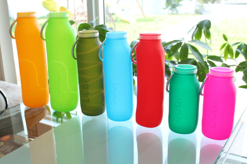Creativity colors ideas, water bottle, gift guide, holiday Season, Silicone, Kitchen idea, silicone Water bottle