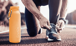 It's perfect for a sports lifes tyle, fitness, silicone water bottle, Bubi Bottle. Hydration