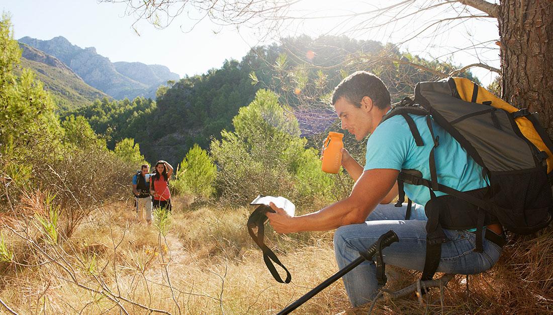 flexible water bottle, hiking gear, heat resistant crockery