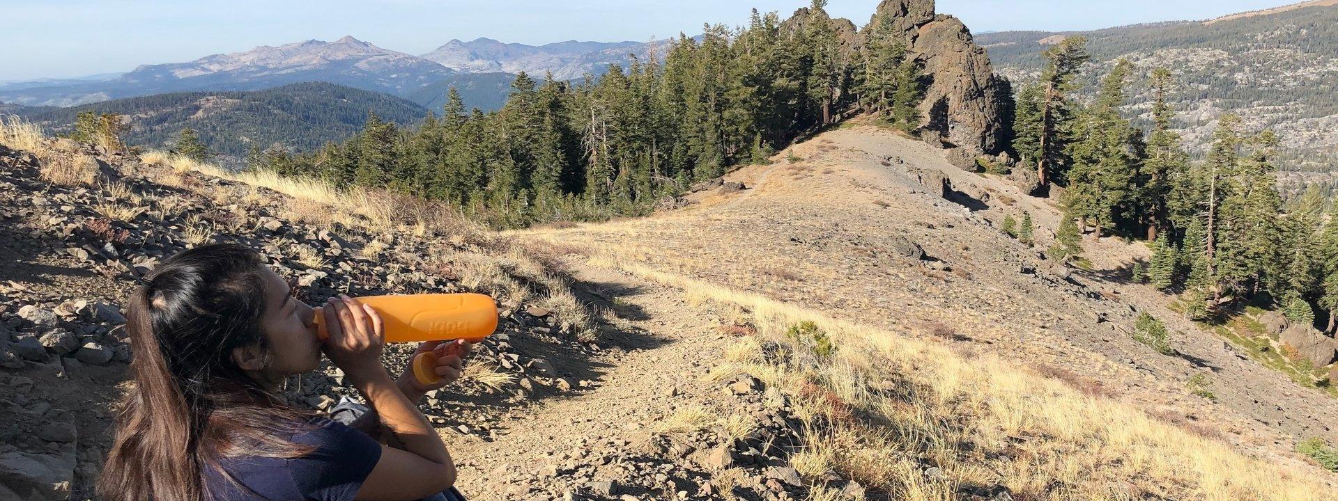 bubi bottle, eldorado part, hiking