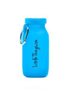 blue water bottle small size