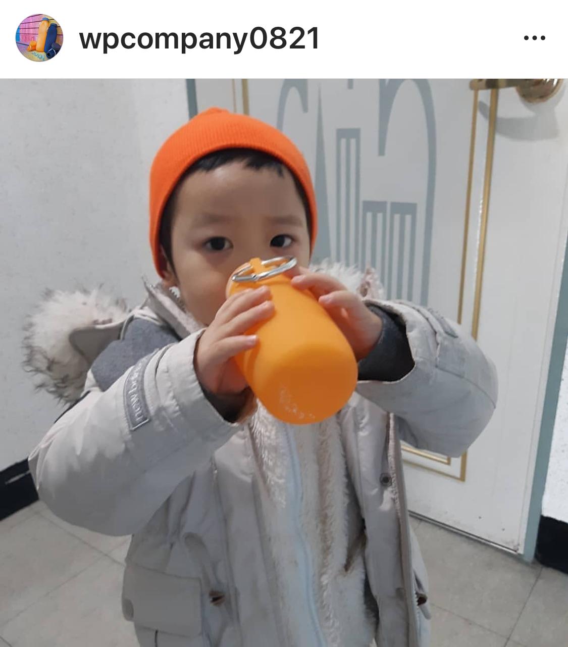 Orange Bubi Bottle, orange bottle silicone water bottle, Hydrations bottle, sporting water bottle