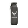 black water bottle USA Air Force with white print
