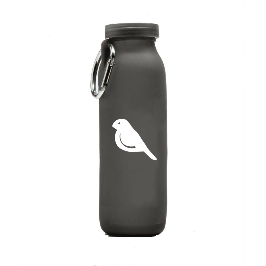 Cinima Production company, customized water bottle, Grey bottle, silicone water bottle, Personalized