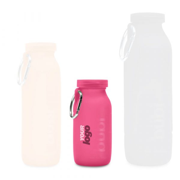 Corporate gifts, personalized water bottles, Silicone water bottle, Hydration, Bubi Water bottle