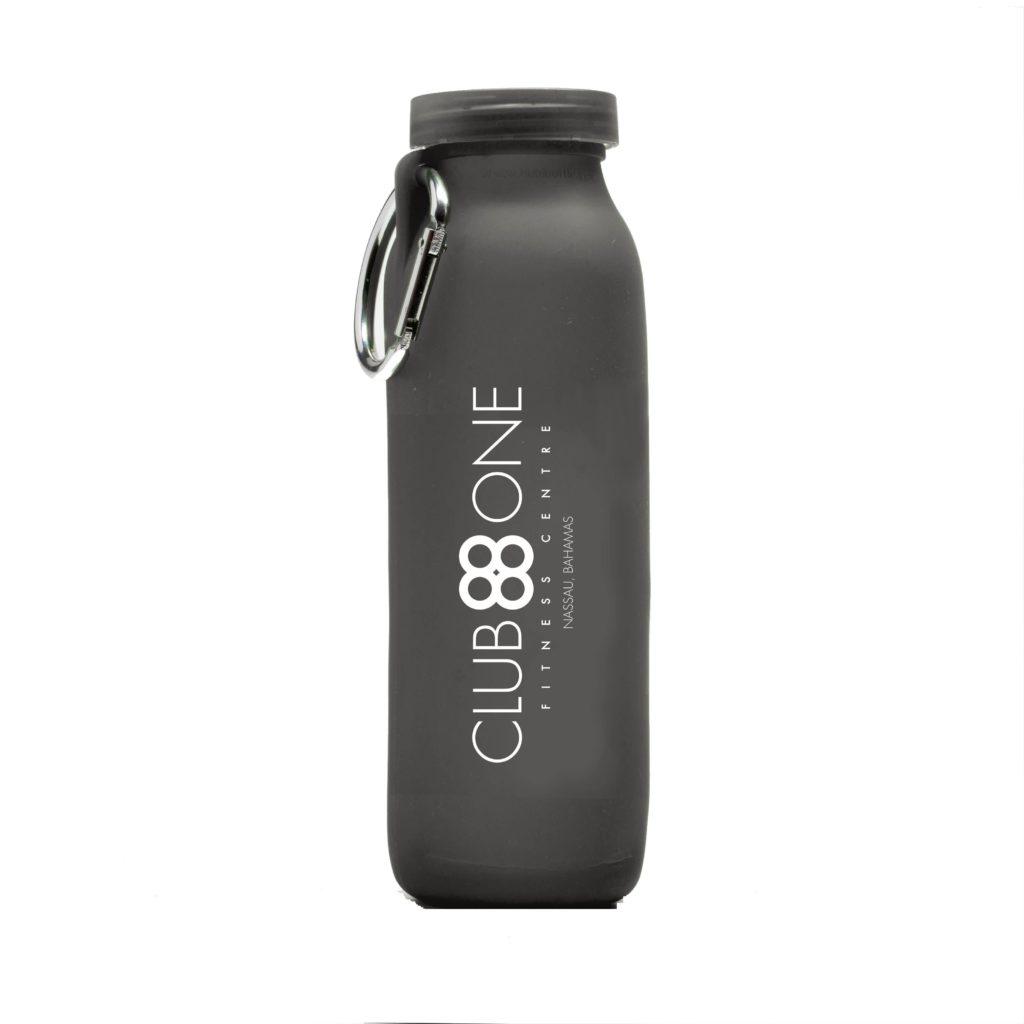Club One, Nausau Bahamasl, customized bottle, Pink, silicone water bottle, Personalized