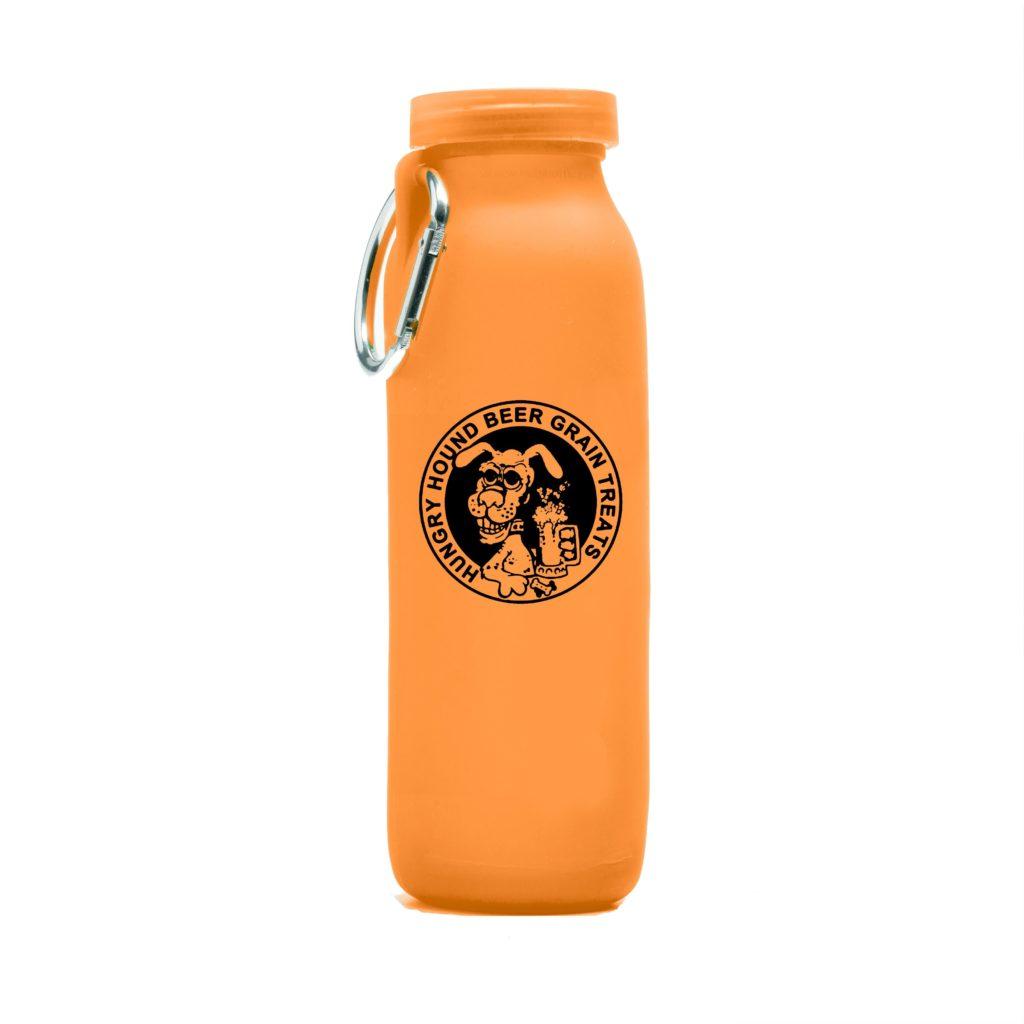 Hungry Hound bear Grain Treats, Personalized, customized water bottle, Bubi Bottle