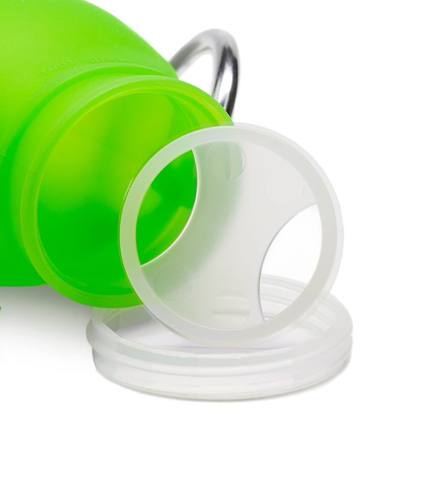 Bubi Bottle Thread Bubi Bottle Retainer. patented water bottle